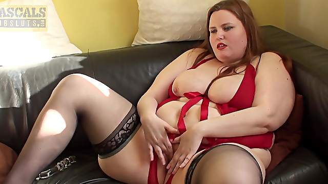 BBW sucks dick and gets laid in insane manners