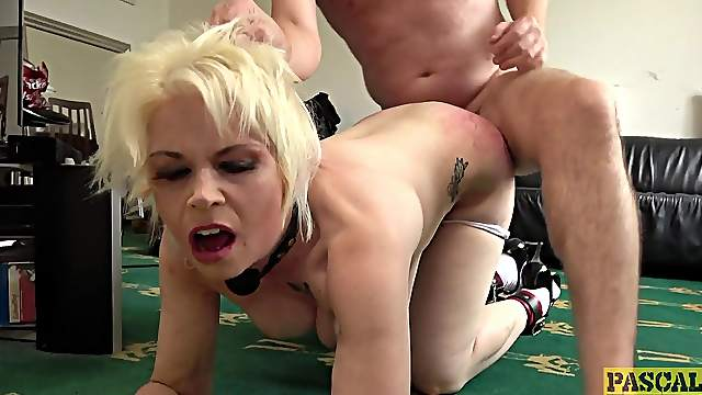 Doggy orgasms for playing submissive and slutty