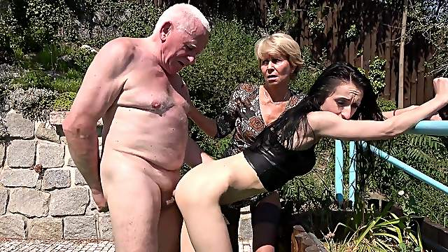 Lori and Lisa B. engage in a rough and unconventional threeway