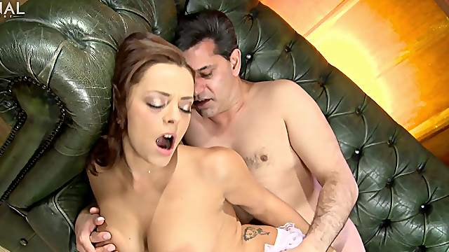 Sultry Liza Del Sierra's sweet ass takes quite a tremendous pounding