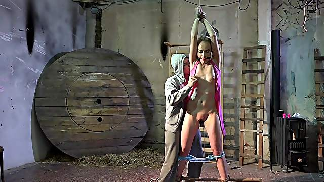 She saw the movie and now she wants to fuck in BDSM too