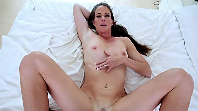 Milf fucked in missionary by her own step son