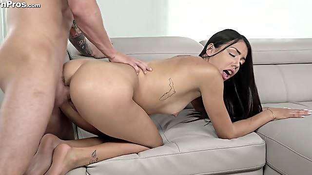 Young Rachel Rivers has braces on her teeth and sex on her mind